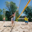 Beach volleyball on Treskowallee campus © HTW Berlin/Alexander Rentsch